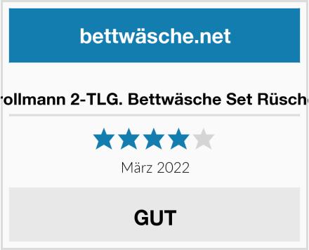 No Name Krollmann 2-TLG. Bettwäsche Set Rüschen Test