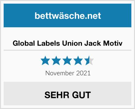 Global Labels Union Jack Motiv Test