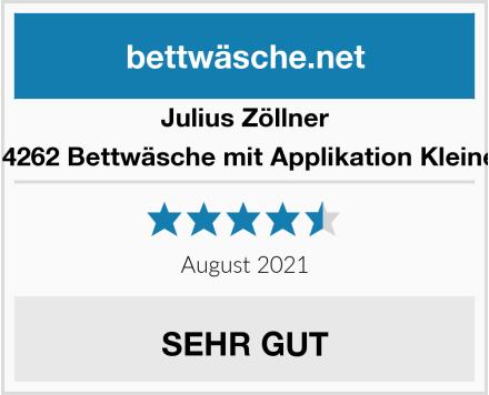 Julius Zöllner 8520114262 Bettwäsche mit Applikation Kleine Eulen Test
