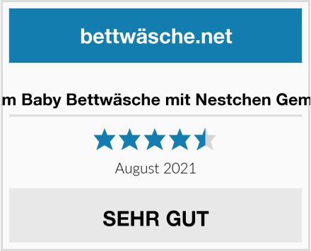 TupTam Baby Bettwäsche mit Nestchen Gemustert Test