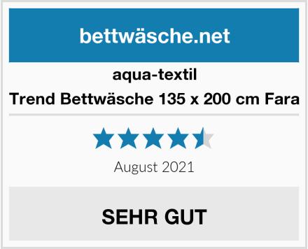 aqua-textil Trend Bettwäsche 135 x 200 cm Fara Test