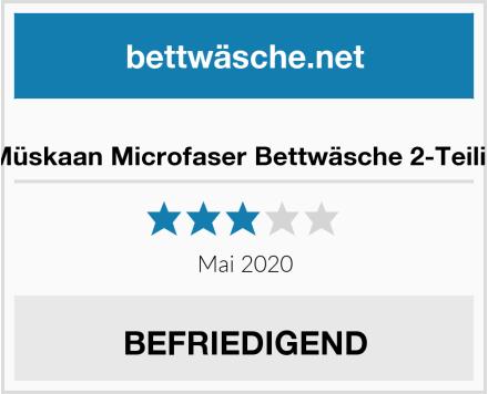 No Name Müskaan Microfaser Bettwäsche 2-Teilig Test