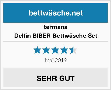termana Delfin BIBER Bettwäsche Set Test