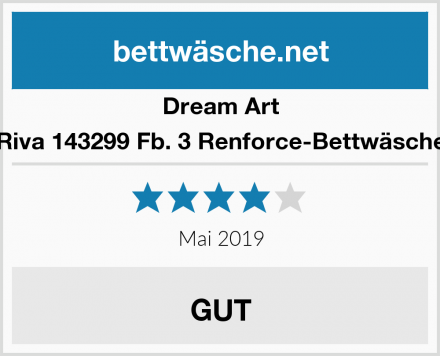 Dream Art Riva 143299 Fb. 3 Renforce-Bettwäsche Test