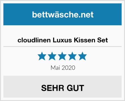 cloudlinen Luxus Kissen Set Test