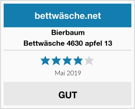 Bierbaum Bettwäsche 4630 apfel 13 Test