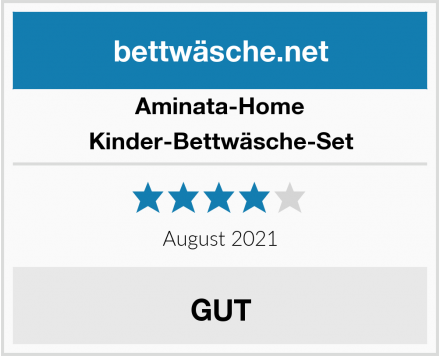 Aminata-Home Kinder-Bettwäsche-Set Test