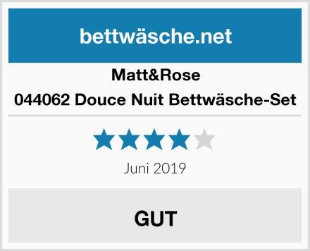 Matt&Rose 044062 Douce Nuit Bettwäsche-Set Test