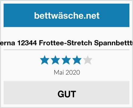 biberna 12344 Frottee-Stretch Spannbetttuch Test