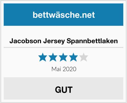 Jacobson Jersey Spannbettlaken Test