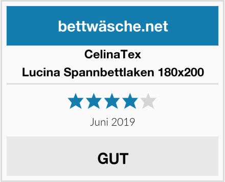CelinaTex Lucina Spannbettlaken 180x200 Test