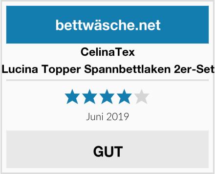 CelinaTex Lucina Topper Spannbettlaken 2er-Set Test