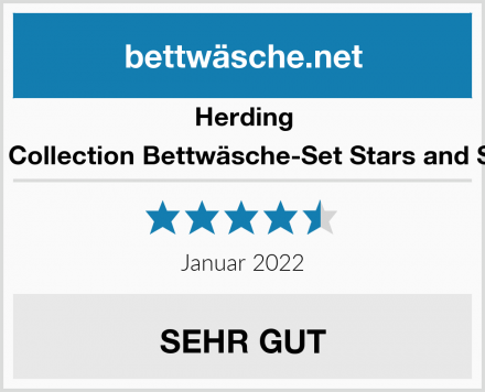 Herding Young Collection Bettwäsche-Set Stars and Stripes Test