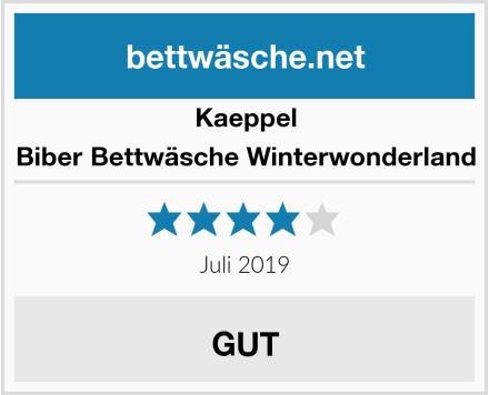Kaeppel Biber Bettwäsche Winterwonderland Test