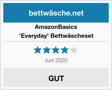 AmazonBasics 'Everyday' Bettwäscheset Test