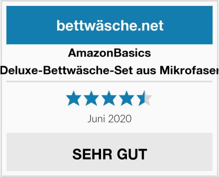 AmazonBasics Deluxe-Bettwäsche-Set aus Mikrofaser Test