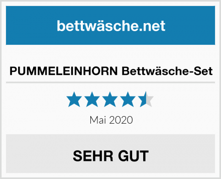 PUMMELEINHORN Bettwäsche-Set Test