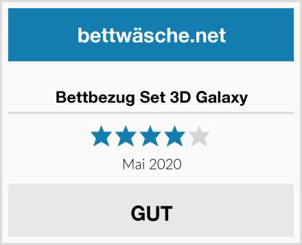 Bettbezug Set 3D Galaxy Test