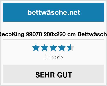 DecoKing 99070 200x220 cm Bettwäsche Test