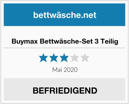 Buymax Bettwäsche-Set 3 Teilig Test