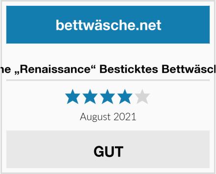 "Serene ""Renaissance"" Besticktes Bettwäscheset Test"