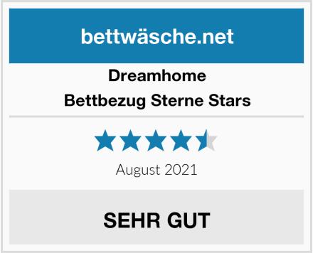 Dreamhome Bettbezug Sterne Stars Test