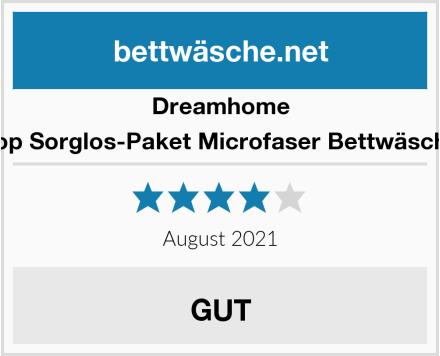 Dreamhome Top Sorglos-Paket Microfaser Bettwäsche Test