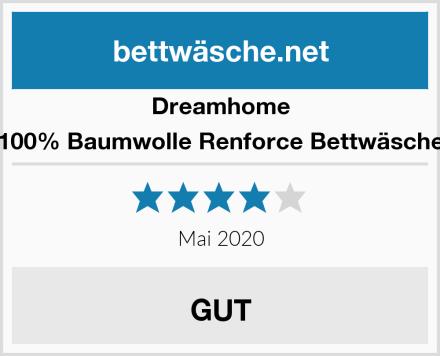 Dreamhome 100% Baumwolle Renforce Bettwäsche Test