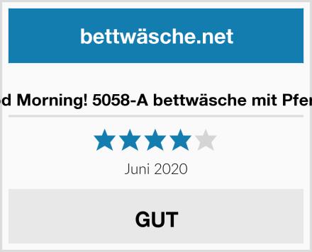 Good Morning! 5058-A bettwäsche mit Pferden Test