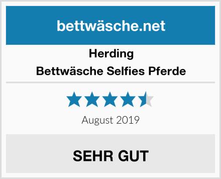 Herding Bettwäsche Selfies Pferde Test