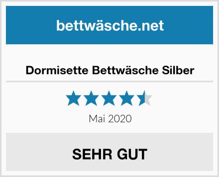 Dormisette Bettwäsche Silber Test