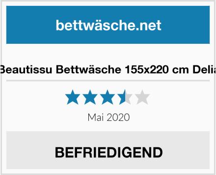Beautissu Bettwäsche 155x220 cm Delia Test