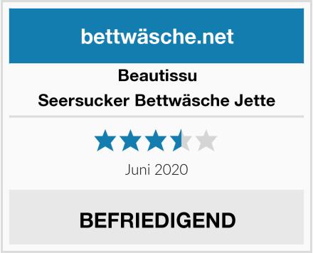 Beautissu Seersucker Bettwäsche Jette Test