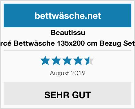 Beautissu Renforcé Bettwäsche 135x200 cm Bezug Set NELA Test