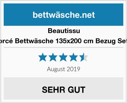 Beautissu Renforcé Bettwäsche 135x200 cm Bezug Set Nina Test