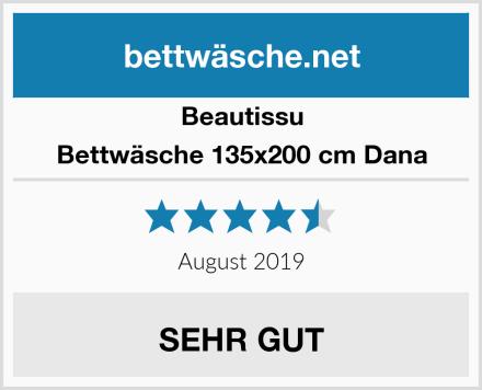 Beautissu Bettwäsche 135x200 cm Dana Test