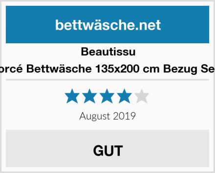 Beautissu Renforcé Bettwäsche 135x200 cm Bezug Set Noa Test
