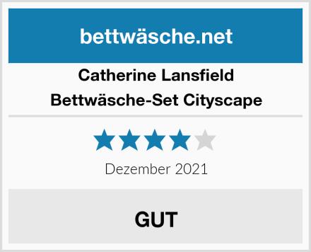 Catherine Lansfield Bettwäsche-Set Cityscape Test