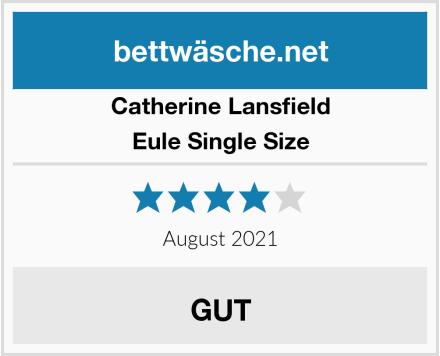 Catherine Lansfield Eule Single Size Test
