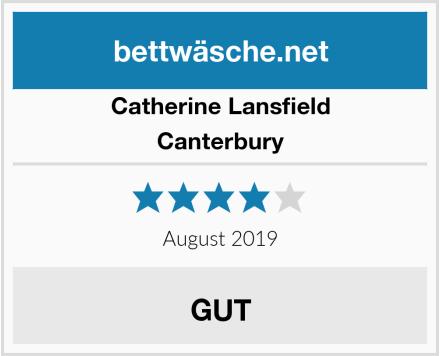 Catherine Lansfield Canterbury Test