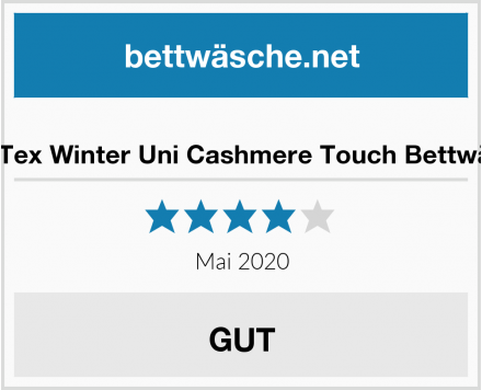 BaSaTex Winter Uni Cashmere Touch Bettwäsche Test