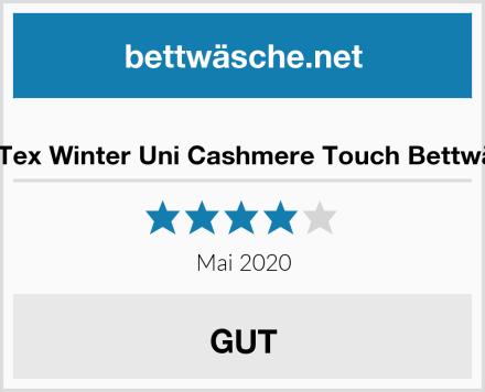 BaSaTex Winter Uni Cashmere Touch Bettwäsche Test