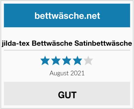 jilda-tex Bettwäsche Satinbettwäsche Test