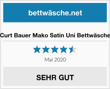 Curt Bauer Mako Satin Uni Bettwäsche Test
