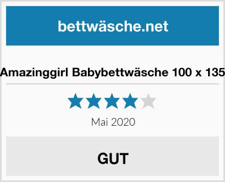 Amazinggirl Babybettwäsche 100 x 135 Test