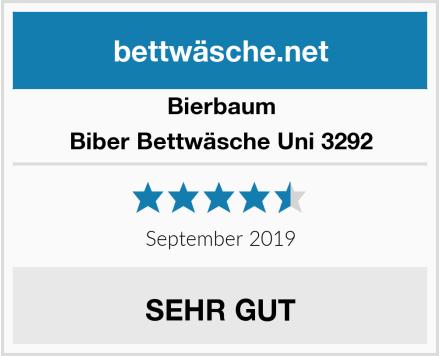 Bierbaum Biber Bettwäsche Uni 3292 Test