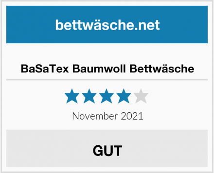 No Name BaSaTex Baumwoll Bettwäsche Test