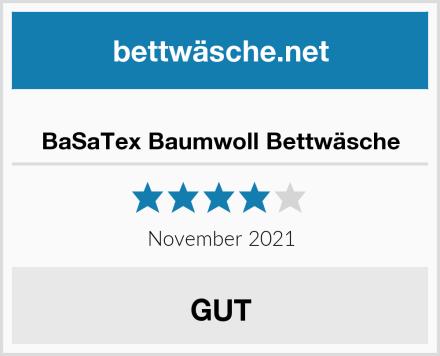 BaSaTex Baumwoll Bettwäsche Test