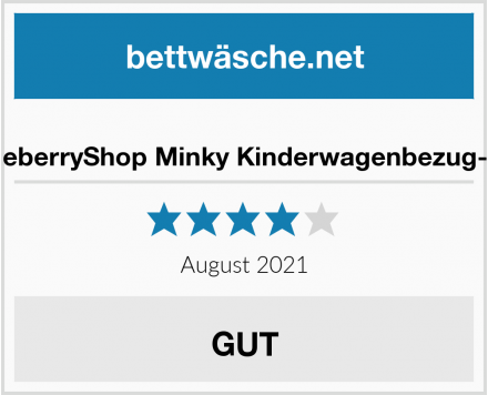 BlueberryShop Minky Kinderwagenbezug-Set Test