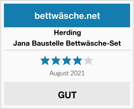 Herding Jana Baustelle Bettwäsche-Set Test